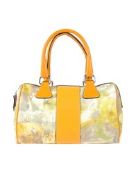 Galliano Handbags Light Yellow