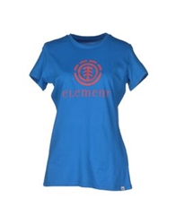 Element T Shirts Azure