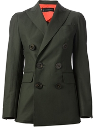 Dsquared2 Military Style Blazer Green