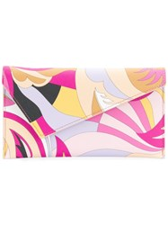 Emilio Pucci Printed Pouch Set Pink