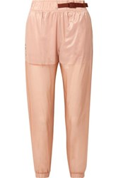 Nike Tech Pack Belted Shell Track Pants Antique Rose