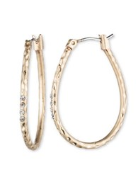 Lonna And Lilly Goldplated Oval Hoop Earrings