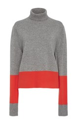 Wendelborn Cashmere Colorblock Sweater Multi