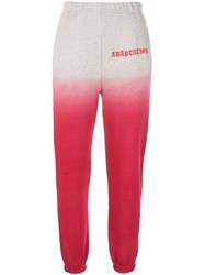 Adaptation Colour Block Track Pants Red