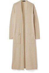 Theory Torina Cashmere Cardigan Beige