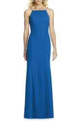 After Six Women's Chiffon Trumpet Gown