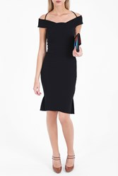 Roland Mouret Women S Beatrix Dress Boutique1 Black