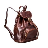 Maxwell Scott Bags Brown Leather Backpack For Women