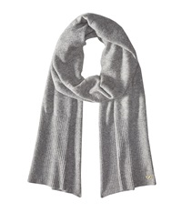 Cole Haan Cashmere Muffler Grey Heather Scarves Gray