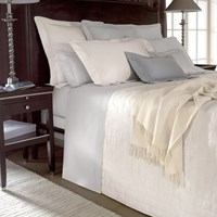 Yves Delorme Triomphe Silver Duvet Cover King