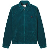 Carhartt Madison Cord Jacket Green