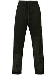 Lost And Found Rooms Slim Fit Track Pants Black