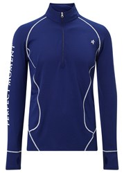 Perfect Moment Navy Thermal Ski Top