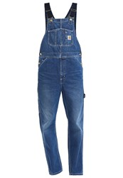 Carhartt Wip Norco Dungarees Blue Stone Blue Denim