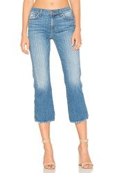 7 For All Mankind Cropped Boot In Adelaide Bright Blue 3