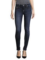 True Religion Faded Super Skinny Jeans Blue