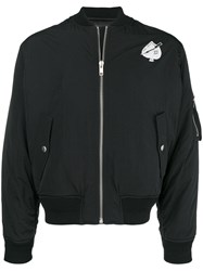 Givenchy Logo Bomber Jacket Black