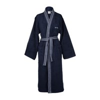 Calvin Klein Riviera Midnight Bathrobe Blue