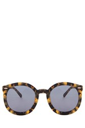 Karen Walker Super Duper Sunglasses Brown