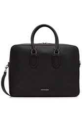 Alexander Mcqueen Leather Briefcase Black