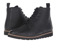 Vans Sahara Boot Black Leather Men's Lace Up Boots