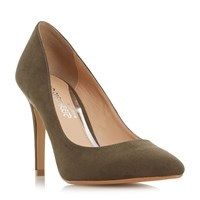 Head Over Heels Alice Pointed Court Shoes Green