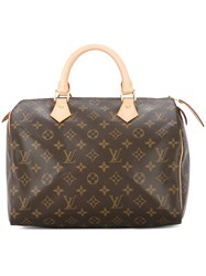38544880ede4 Louis Vuitton Vintage Speedy 30 Tote Brown