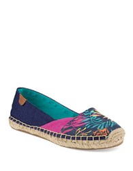 Sperry Cape Espadrille Flats Blue