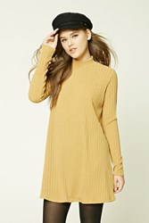 Forever 21 Ribbed Turtleneck Sweater Dress
