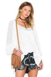 Jens Pirate Booty Bianca Tunic Top White