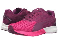 Puma Ignite Dual Magenta Purple Pink Glow Women's Running Shoes Red