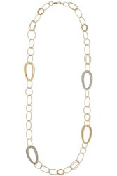 Ippolita Cherish 18 Karat Gold Diamond Necklace
