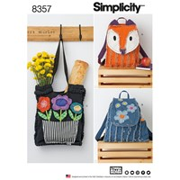 Simplicity Rag Quilted Bag Sewing Pattern 8357