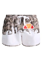 Ellesse Tonno Swimming Shorts Camo Optic White Green