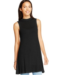 Eyeshadow Juniors' Sleeveless Mock Neck Tunic