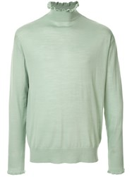 Undercover Frill Turtleneck Sweater 60