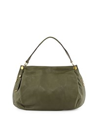 Kerry Leather Shoulder Bag Forest Green Oryany
