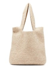 Lauren Manoogian Oval Knitted Tote Beige