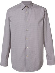 Paul Smith Checked Shirt Nude And Neutrals