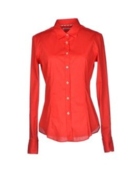 Manuel Ritz Shirts Red