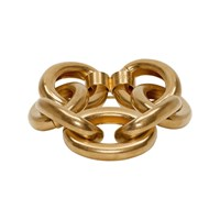 Marni Gold Oversized Chain Bracelet