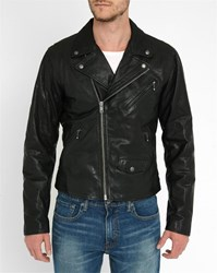 Levi's Black Leather Biker Jacket