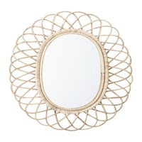 Bloomingville Oval Cane Mirror