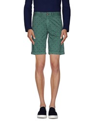Sun 68 Trousers Bermuda Shorts Men Green