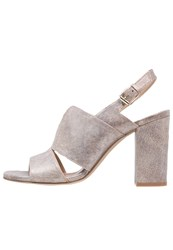 Bruno Premi High Heeled Sandals Cers Miele Taupe