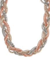 S.Oliver Necklace Multicolor Gold