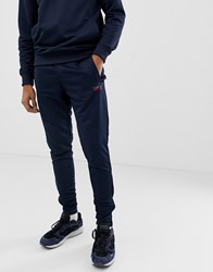 Barbour International Slim Tricot Sweat Joggers In Navy