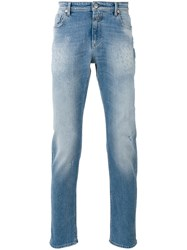 Closed Ripped Detail Classic Jeans Blue