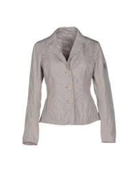 Add Suits And Jackets Blazers Women Light Grey