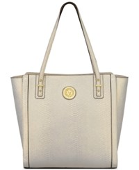 Anne Klein Front Runner Pebble Tote Gold